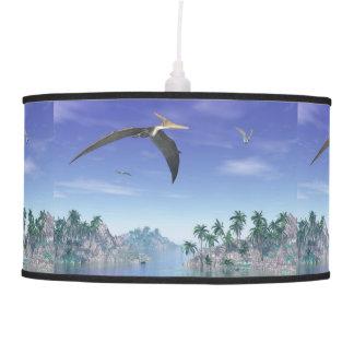 Pteranodon birds  - 3D render Pendant Lamp