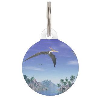 Pteranodon birds  - 3D render Pet Tag
