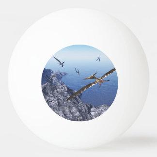 Pteranodon birds - 3D render Ping Pong Ball