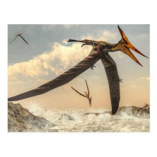 Pteranodon birds - 3D render Postcard