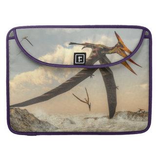 Pteranodon birds - 3D render Sleeve For MacBooks