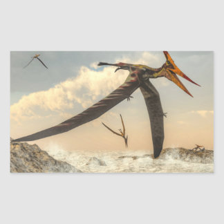 Pteranodon birds - 3D render Sticker