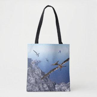 Pteranodon birds - 3D render Tote Bag