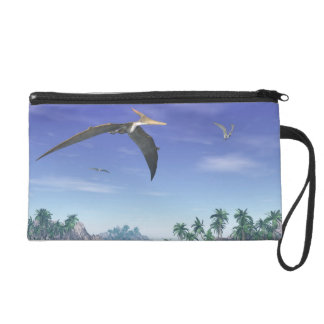 Pteranodon birds  - 3D render Wristlet