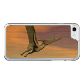 Pteranodon dinosaur flying - 3D render Carved iPhone 8/7 Case