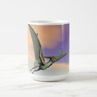 Pteranodon dinosaur flying - 3D render Coffee Mug
