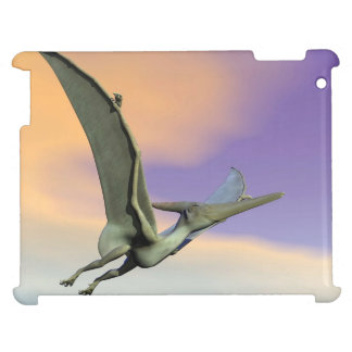 Pteranodon dinosaur flying - 3D render Cover For The iPad