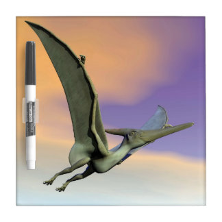 Pteranodon dinosaur flying - 3D render Dry Erase Whiteboard
