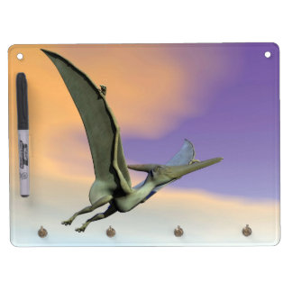 Pteranodon dinosaur flying - 3D render Dry Erase Whiteboards