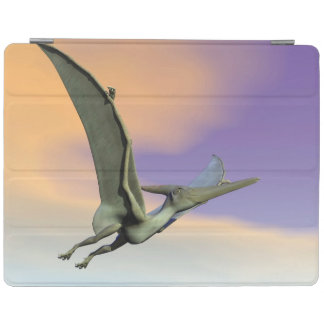 Pteranodon dinosaur flying - 3D render iPad Cover