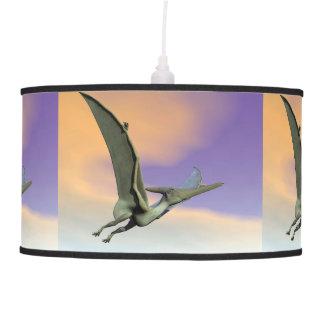Pteranodon dinosaur flying - 3D render Pendant Lamp