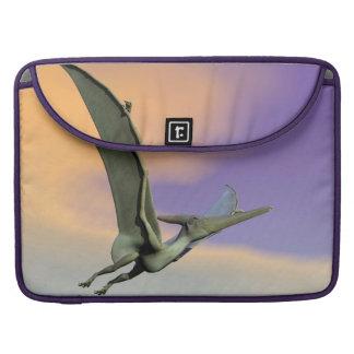 Pteranodon dinosaur flying - 3D render Sleeve For MacBooks