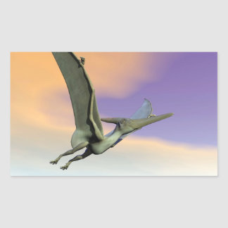Pteranodon dinosaur flying - 3D render Sticker