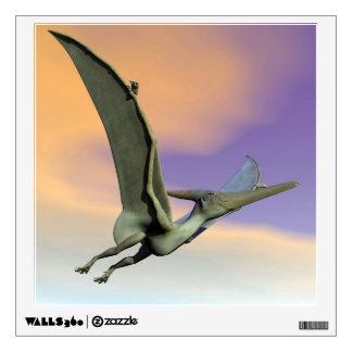 Pteranodon dinosaur flying - 3D render Wall Sticker