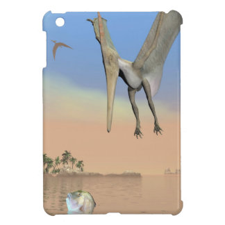 Pteranodon dinosaurs fishing - 3D render iPad Mini Cases