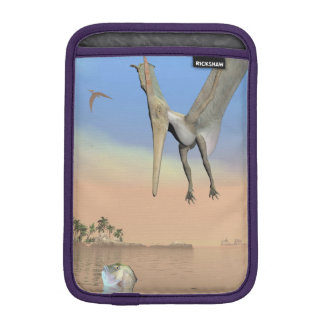 Pteranodon dinosaurs fishing - 3D render iPad Mini Sleeve