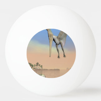 Pteranodon dinosaurs fishing - 3D render Ping Pong Ball