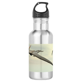Pteranodon dinosaurs flying - 3D render 532 Ml Water Bottle