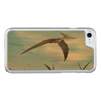 Pteranodon dinosaurs flying - 3D render Carved iPhone 8/7 Case