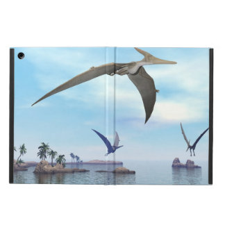 Pteranodon dinosaurs flying - 3D render Case For iPad Air