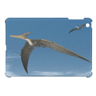 Pteranodon dinosaurs flying - 3D render Case For The iPad Mini
