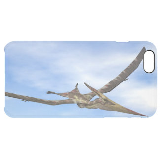 Pteranodon dinosaurs flying - 3D render Clear iPhone 6 Plus Case