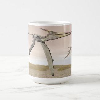 Pteranodon dinosaurs flying - 3D render Coffee Mug
