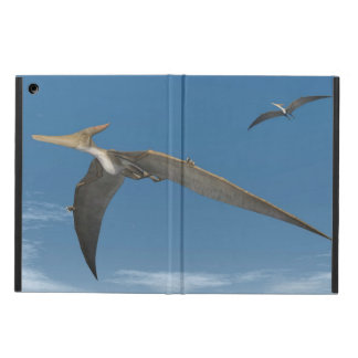 Pteranodon dinosaurs flying - 3D render Cover For iPad Air