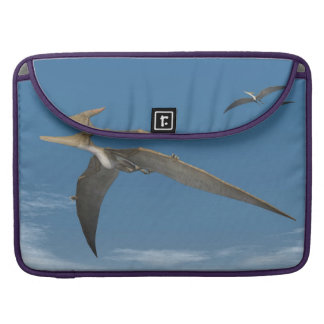 Pteranodon dinosaurs flying - 3D render Sleeve For MacBook Pro