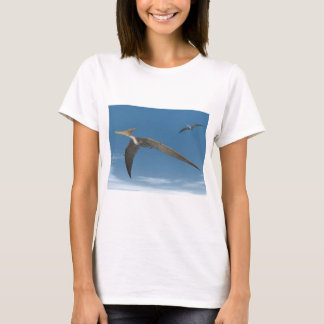 Pteranodon dinosaurs flying - 3D render T-Shirt