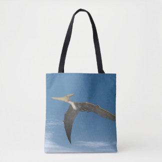 Pteranodon dinosaurs flying - 3D render Tote Bag