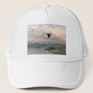 Pteranodon dinosaurs flying - 3D render Trucker Hat