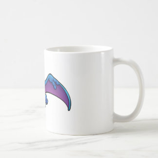 Pterodactyl Dinosaur Cartoon Character Coffee Mug