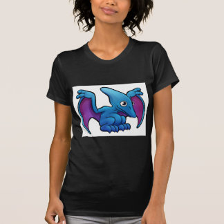 Pterodactyl Dinosaur Cartoon Character T-Shirt