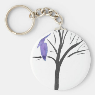 Pterodactyl In A Tree Keychain