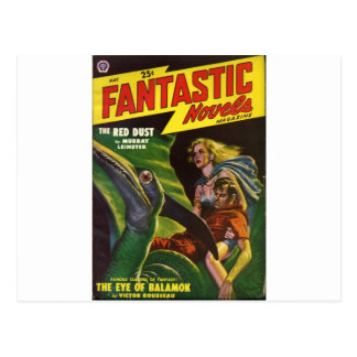 Pterodactyl Ride Postcard