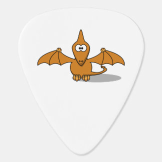Pterodactyl Toony Art Guitar Pick
