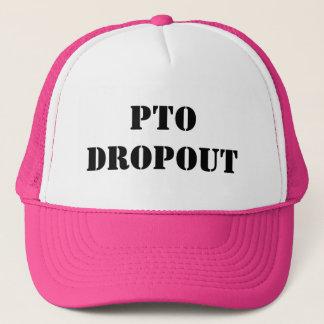 PTO Dropout Pink Hat