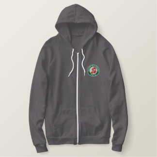 PTO Embroidered Ladies AA Fleece Zip Hoodie