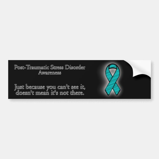 PTSD Awareness Bumper Sticker