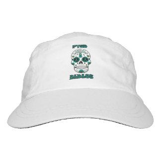 PTSD Badass sugar skull Headsweats Hat