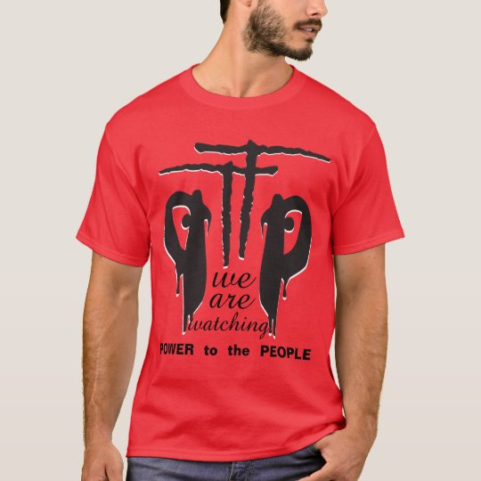 PTTP - A.Hamilton > Keeping Arms On Red T-Shirt