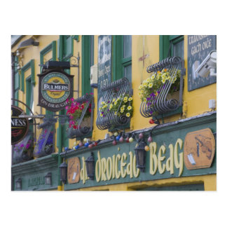 Pub, Dingle, Dingle Peninsula, County Kerry, Postcard