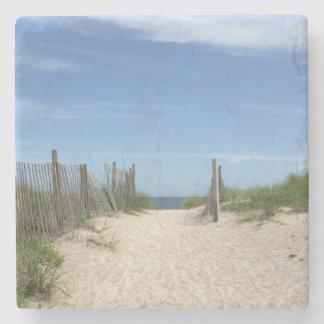 Public Access 32, Wrightsville Beach Stone Coaster