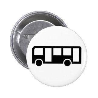 Public bus 2 inch round button