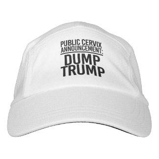 PUBLIC CERVIX ANNOUNCEMENT - DUMP TRUMP - HAT