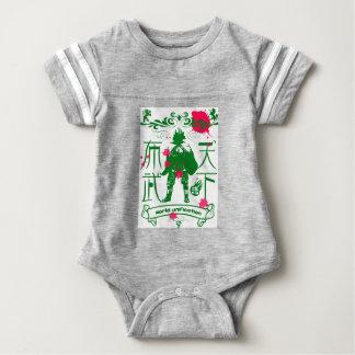 Public cloth military affairs baby bodysuit