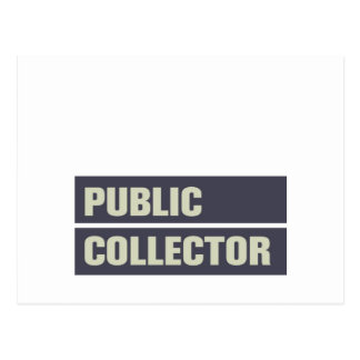 Public Collector Postcard