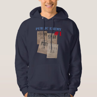 public enemy number one poster hoodie design