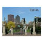 Public Garden Postcard